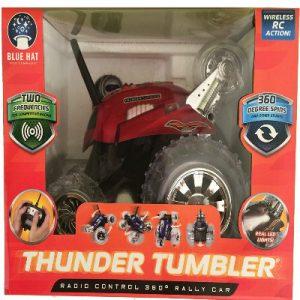 Tumbler Thunder Rouge 360 Avec Télécommande Jouets Voitures Kcl1JF